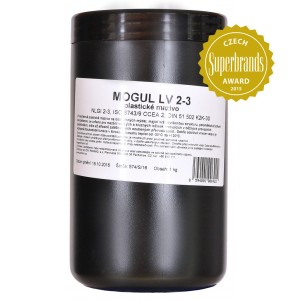 MOGUL LV 2-3 8 kg Lubrication for bearings