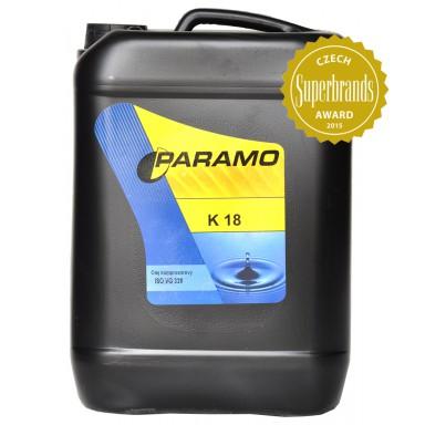 PARAMO K 18 /10л./ Олива компресорів газових