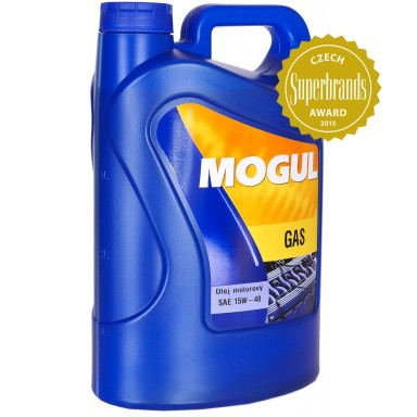 MOGUL 15W-40 GAS 4l. Engine oil